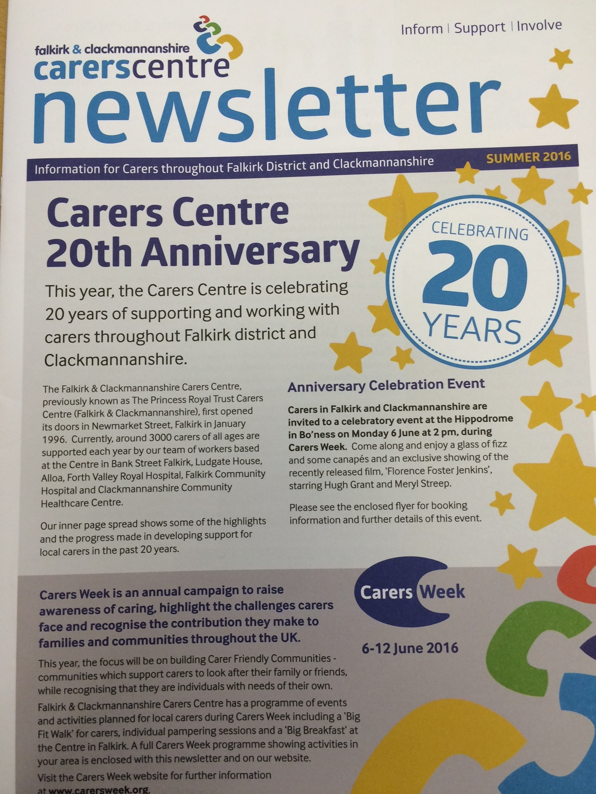 Newsletter Cover May 2016